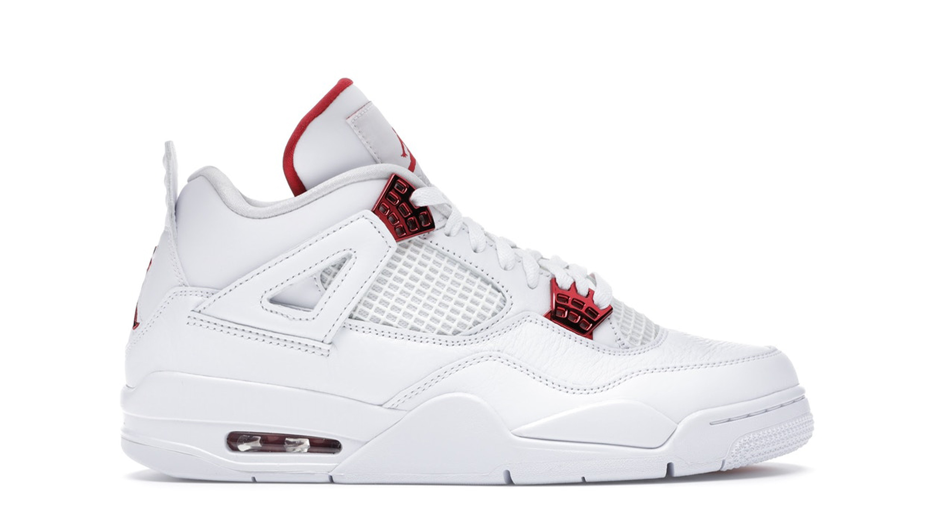 "AIR JORDAN 4 RETRO ""RED METALLIC"""